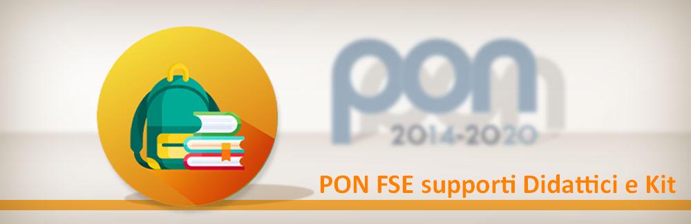 PON FSE supporti Didattici e Kit