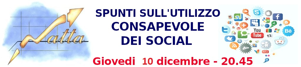 Utilizzo consapevole dei social